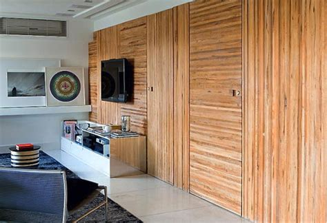 Knotty Pine Bedroom Furniture 12 contemporary wood walls you ll actually love design milk