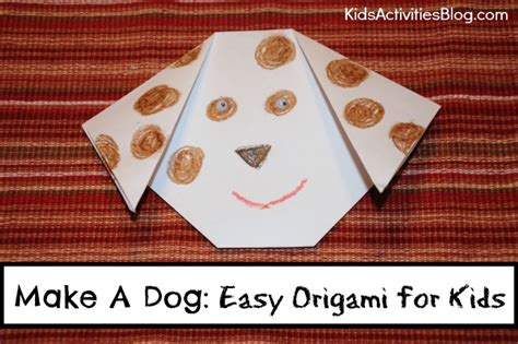 Simple Origami For Preschoolers - make a easy origami ideas for been released