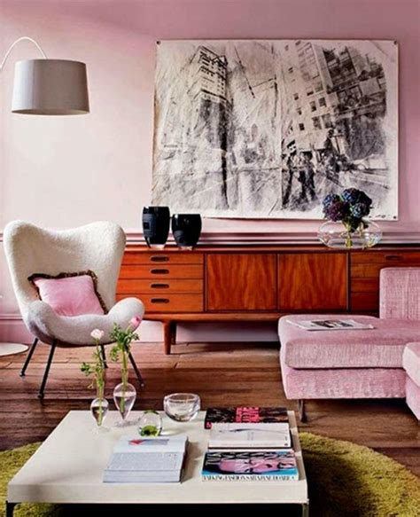 Pink Living Room Ideas - 30 extremely charming pink living room design ideas rilane