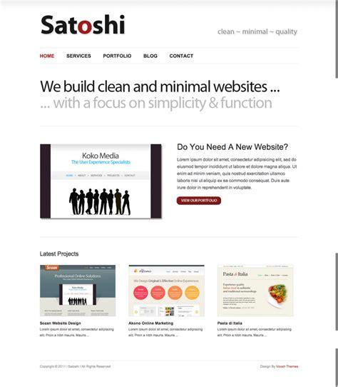 themes wordpress free minimal 6 of the best free minimal wordpress themes