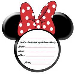 simplicity minnie mouse ideas and free printables