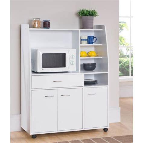 meubles de cuisine ik饌 kitchen desserte de cuisine 100cm blanc mat achat