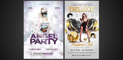 flyer design toronto night club flyer design toronto event flyers burlington