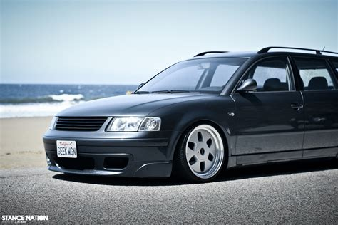 stanced volkswagen passat low n slow toyota celica vw passat stancenation