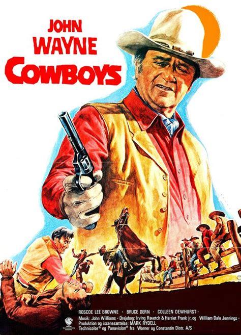 film cowboy john wayne john wayne quot the cowboys quot movie poster http dunway com