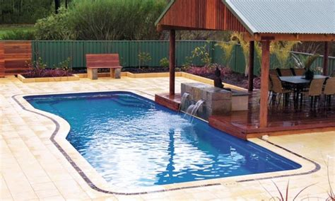 Elaborate Backyard Pools 17 Best Images About Fiberglass Pools On Patio