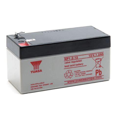 Batery Ups Yuasa Np 1 2 12 np1 2 12 yuasa lead acid battery 12v 1 2ah