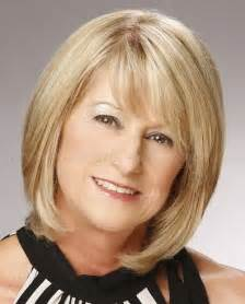 trendy bobs for 50 with thin hair medium hairstyles over 50 shoulder length bob hairstyle