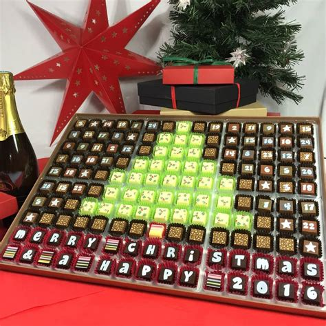 Chocolate Advent Calendar Chocolate Advent Calendar To Tree By