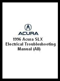 auto repair manual online 1996 acura slx electronic toll collection 1996 acura slx electrical troubleshooting manual all