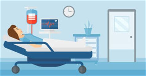 cartoon girl hospital bed stock photos, images, & pictures