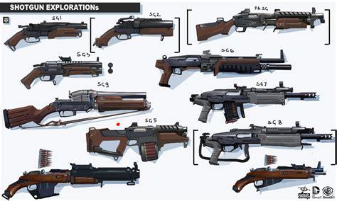 design gun game calader batman arkham origins arsenal