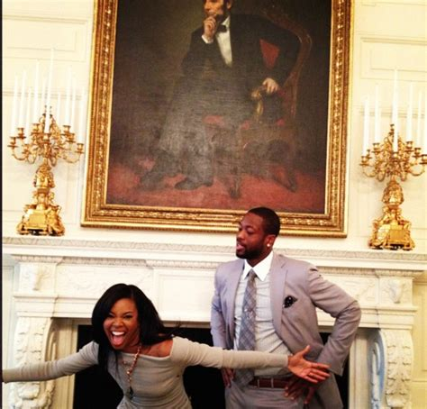 dwyane wade and gabrielle union house gabrielle union d wade get urban in white house adrienne bailon almost has nip slip
