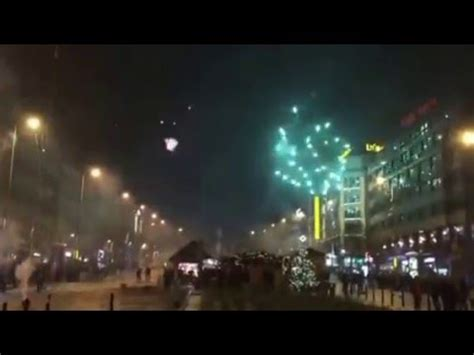 2016 new years fireworks prague czech republic in hd doovi