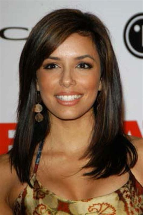 good hair lenght at 63 eva longoria such pretty color hair and makeup