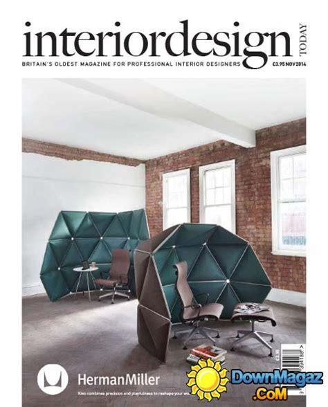 home interior design magazine pdf free download interior design today november 2014 187 download pdf