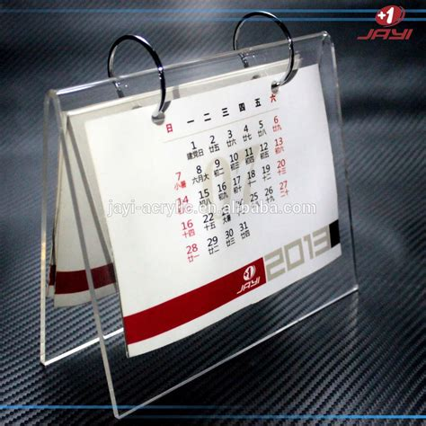acrylic desk calendar holder list manufacturers of plastic desk calendar holder buy