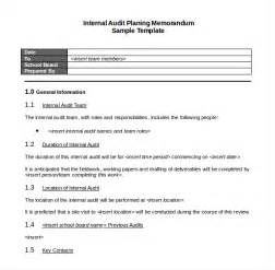 Audit Scope Template by 10 Audit Memo Templates Free Sle Exle Format