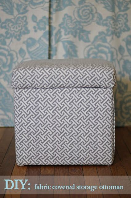 17 Best Ideas About Ottoman Cover On Pinterest Ottoman Storage Ottoman Fabric Covered