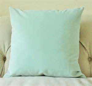decorative mint green pillow mint green velvet by motifpillows