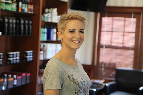 step by step short women cliper haircuts step by step short female clipper cut with textured top
