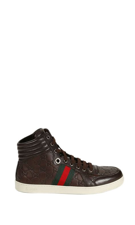 gucci tennis shoes for gucci shoes tennis ankle boots ssima in brown for