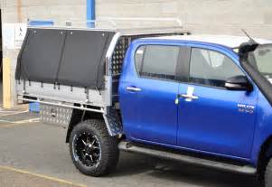 Canvas Canopy Hilux by Canvas Canopy Unit For D Cab Hilux Alloy Motor Accessories