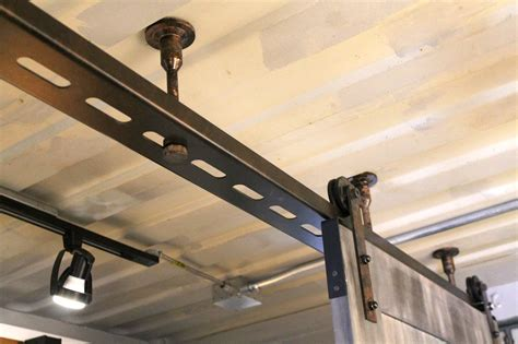 Sliding Barn Door Ecustomfinish 8ft Top Mounted Single Barn Door Hardware Kit