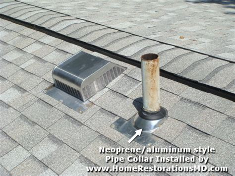 Roof Plumbing Vent by Plumbing Vent Pipe Through Roof Images