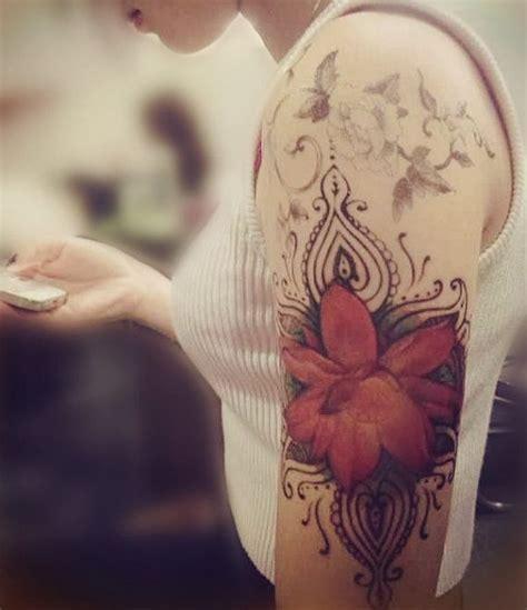 Tattoo Aufkleber Haut Blumen by 220 Ber 1 000 Ideen Zu Lotus T 228 Towierungen Auf Pinterest