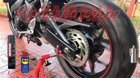 motorsiklet zincir yaglama   youtube