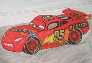 Lightning Mcqueen Cars 1 Racing Cars 3 Custom Lightning Mcqueen On Race Track By