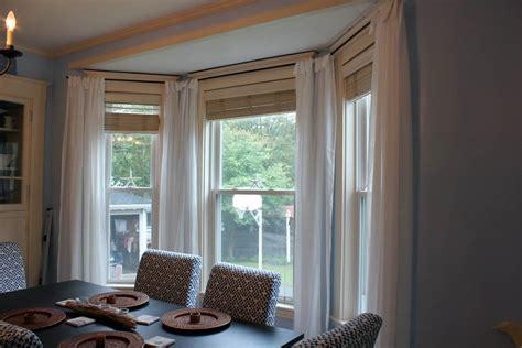 window treatment options  bay windows