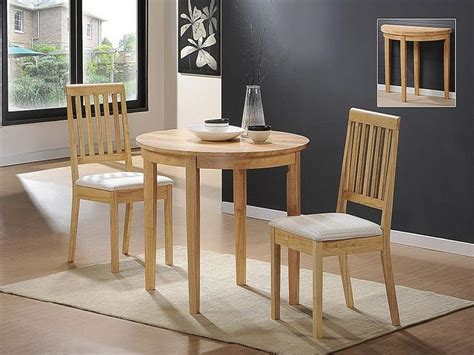 bloombety small kitchen oak dining table and 2 chairs