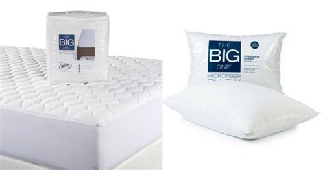 The Big One Mattress Pad the big one mattress pads microfiber pillows just 13 58