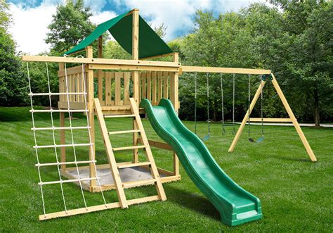 eclipse swing eclipse fort with swing set diy kit swingsetmall