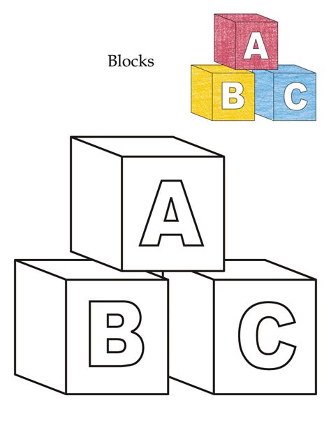 0 Level Coloring Pages by Coloring Pages Abc Blocks Coloring Page