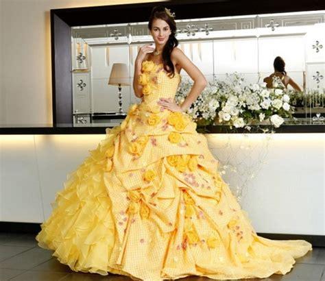 Dress Model Motif Flower Blue Stylish Fashion Impor inspiring colorful bridal dresses collection for american