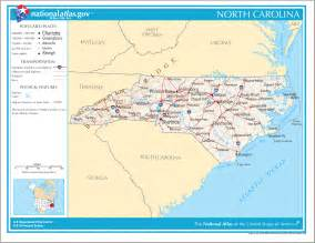 carolina road map carolina maps