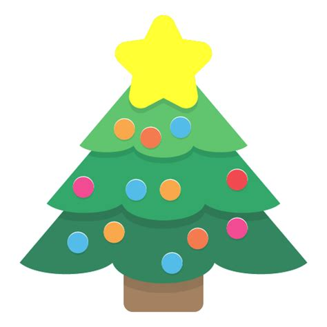 simple pine tree cartoon