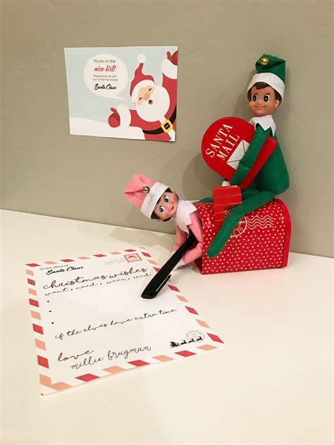 free printable on the shelf letter santa letter free printable on the shelf smudgey