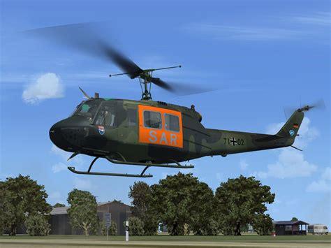 Sar I Bell Uh 1d Bundeswehr Sar 71 For Fsx