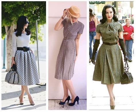 imagenes moda retro consejos para vestir vintage