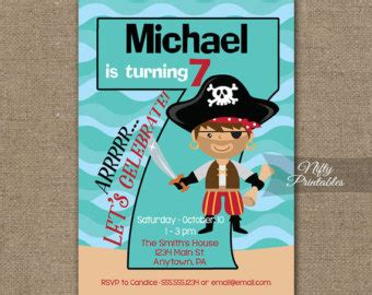 printable birthday invitations for 7 year old boy view birthday kids by niftyprintables on etsy