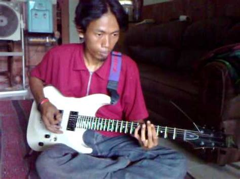 tutorial gitar pas band jengah belajar melodi gitar the dangduters by acay funnycat tv