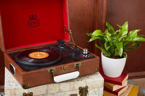 retro vinyl record modern chic retro style vinyl record player
