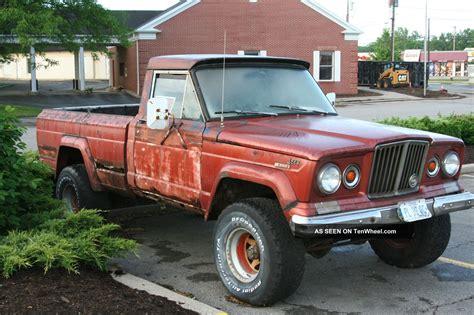jeep gladiator 1963 1963 jeep j 10 gladiator 4x4 chevy 350 4bbl 400