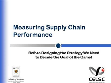supply chain performance measurement |authorstream
