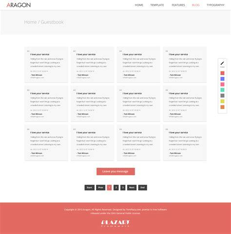 joomla parallax template free aragon parallax responsive joomla template by templaza