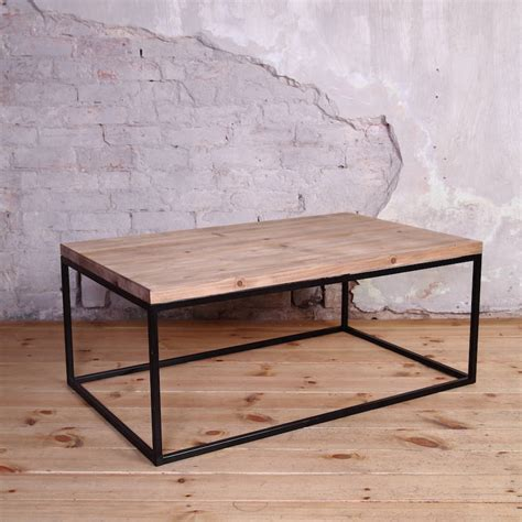 coffee table style industrial style coffee table by cosywood